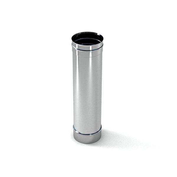 EWO Smoke ТРУБА из нержавеющей стали AISI 321 L=1,0м, 1мм ф120