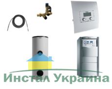 Пакет Vaillant ecoVIT exclusiv VKK 656+VIH R300+VRC 630 (0020201509)