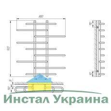 Полотенцесушитель Laris Этюд П9 800х900 mm