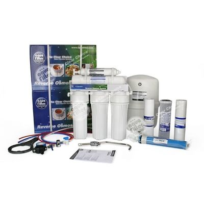 Система обратного осмоса Aquafilter FRO5JG Голубая Лагуна 4 цена
