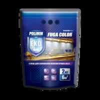 Polimin Fuga Color эластичная затирка для межплиточных швов (цвет черный)
