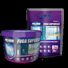 Polimin Fuga Superflex антигрибковая эластичная затирка для межплиточных швов (цвет сиреневый)
