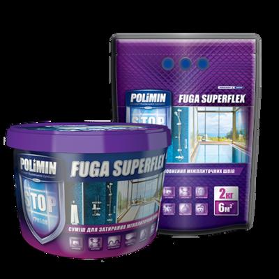 Polimin Fuga Superflex антигрибковая эластичная затирка для межплиточных швов (цвет кремовый) цена