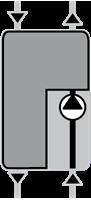 Насосная группа прямой подачи тепла ESBE GDA111 DN 25 (61000100) цены