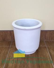 Бетонная ваза Глория 330х315 (серый)