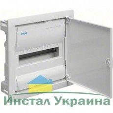 HAGER Щит встроеный VOLTA 1 ряд 12+2 модулей стальные двери, без клемм IP30 (VU12UA)