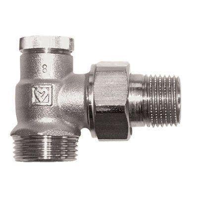 Радиаторный вентиль Herz RL-1 1/2 угловой цена