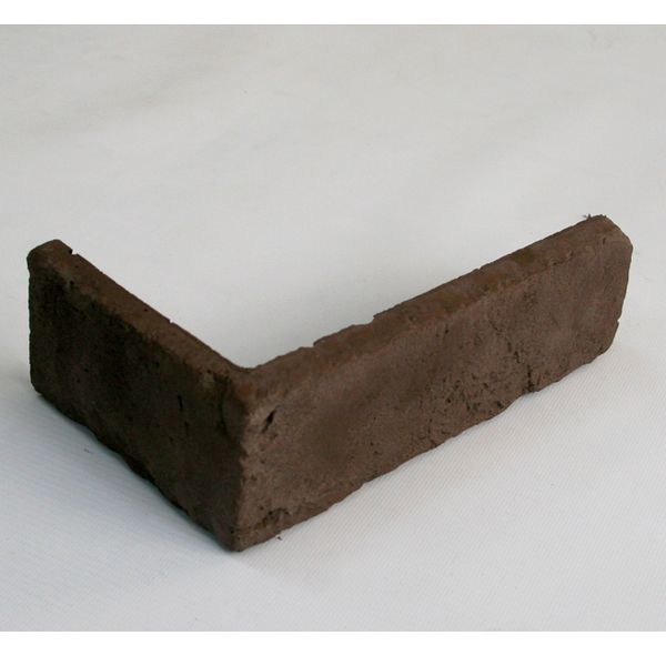 Угловой элемент из искусственного камня Классик россо