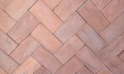 Тротуарная плитка Террасная доска Терраса (малая) бьянко 200х100 цена