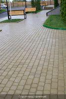 купить Тротуарная плитка Старый город (горчичный) для пешеходной зоны (4 см)