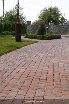 Тротуарная плитка Креатив (болонья) (6 см)