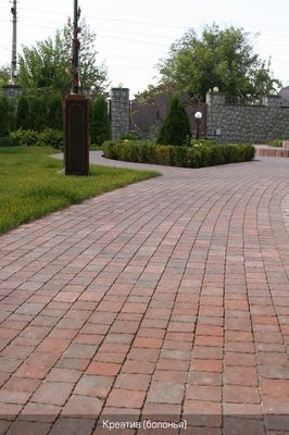 Тротуарная плитка Креатив (болонья) (6 см) цена