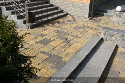 Тротуарная плитка Пассион (мессина) (6 см) цены
