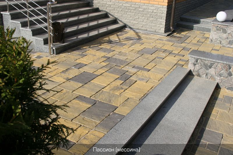 Тротуарная плитка Пассион (мессина) (6 см)