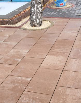 Тротуарная плитка Монолит 600х400 (тренто) (8 см) цена