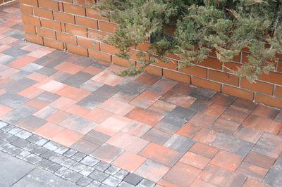 Тротуарная плитка Плац (персиковый) (6 см) цена