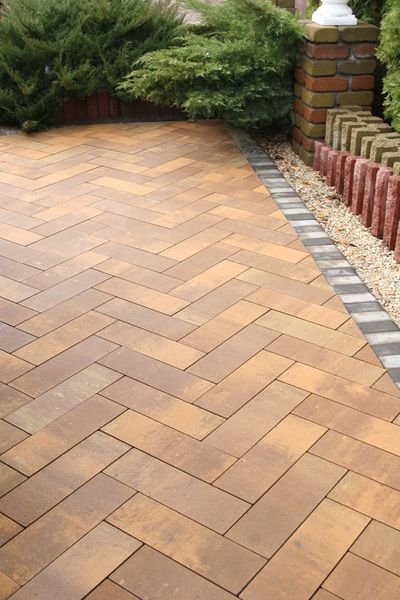 Тротуарная плитка Паркет (колормикс) (6 см)