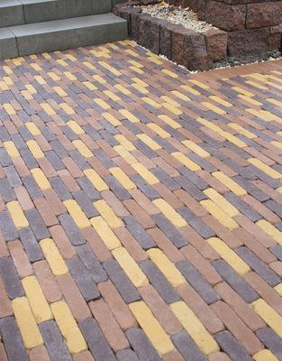 Тротуарная плитка Кирпич Барселона 6 Антик 192х45 (серый) (6 см) цена