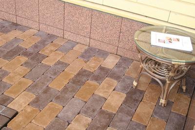 Тротуарная плитка Кирпич Роттердам Антик 250х120 (черный) (6 см) цена