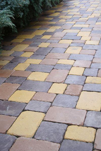 Тротуарная плитка Плац (белый) (6 см)