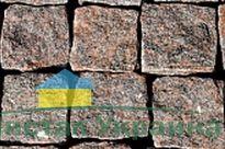 Брусчатка колотая Новоданиловское месторождение 100х100х100