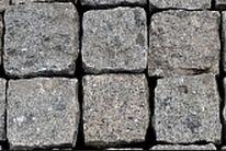Брусчатка колотая Константиновское месторождение 100х100х50