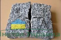 Брусчатка колотая Жежелевское месторождение 100х100х50