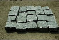 Брусчатка колотая Рахны-Полевское месторождение 100х100х50