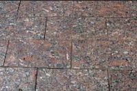 Брусчатка пиленая Капустинское месторождение 200х100х50