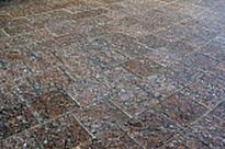 Брусчатка пиленая Капустинское месторождение 100х100х40