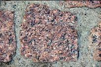 Брусчатка колотая Лезниковское месторождение 50х50х50