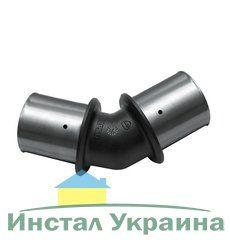 KAN Отвод 45° PPSU Press c пресс-кольцом 63x4,5 K-900413
