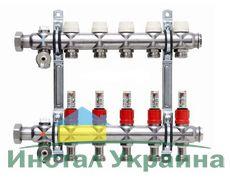 Коллектор Kermi x-net FT-12,нерж. с топметром SFVT12000000