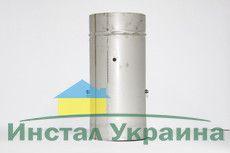 Кагла 1,00 мм из нержавеющей стали (AISI 321) с термоизоляцией в нержавеющем кожухе (AISI 321) ф180/240