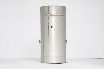 Кагла 0,5 мм из нержавеющей стали (AISI 304) с термоизоляцией в нержавеющем кожухе (AISI 304) ф300/360 цена