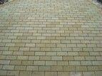 купить Тротуарная плитка Кирпич Стандартный (горчичный) 200х100 для пешеходной зоны (4 см)