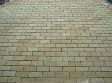 Тротуарная плитка Кирпич Стандартный (черный) 200х100 (6 см)