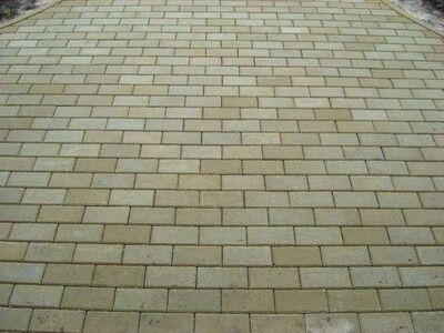 Тротуарная плитка Кирпич Стандартный (горчичный) 200х100 для пешеходной зоны (4 см) цена