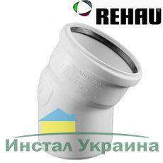 Rehau для внутр. канализации Отвод RAUPIANO PLUS 75 87°