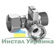 """ARCO Кран приборный д/стиральной машины шаровый 1/2"""" 3/4 """"1/2"""" проходной"""