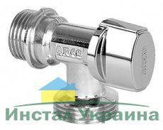 """ARCO Кран приборный угловой шаровый 1/2"""" 3/4"""" д/стиральной машины"""