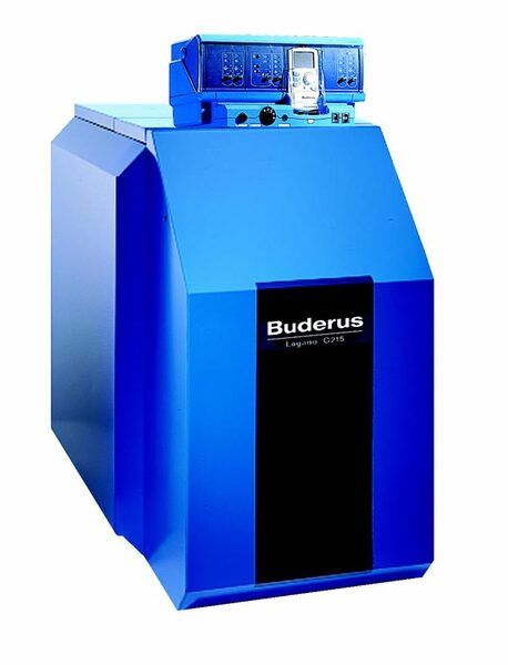 Твердотопливный котел Buderus Logano G215-95 WS (без горелки и системы управления)