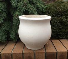 Бетонная ваза Луиза (серый)