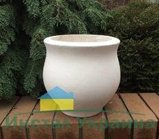 Бетонная ваза Луиза (роспись)