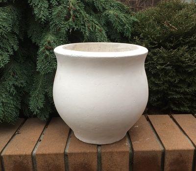 Бетонная ваза Луиза (белый) цена