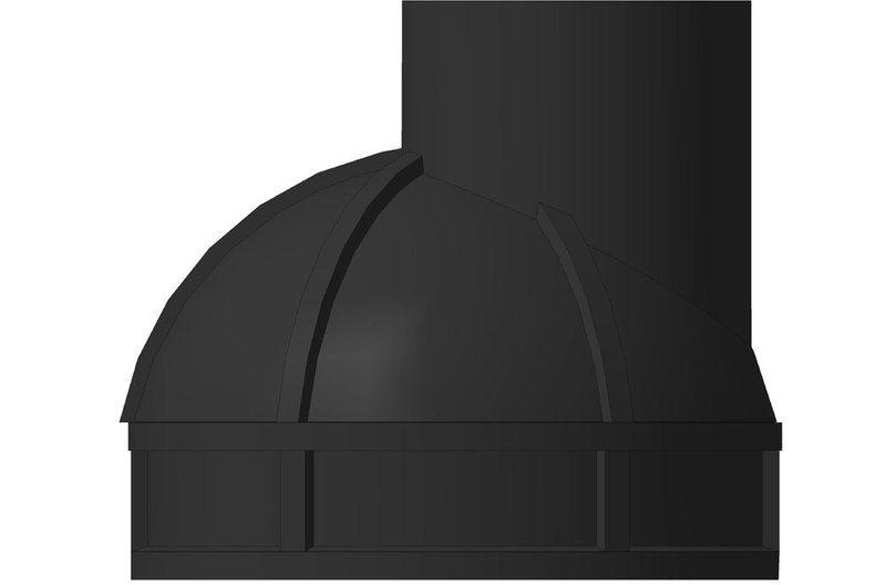 Колодец смотровой д.1100 мм (кольцо с дном 500 мм + конус + днище с лотком)