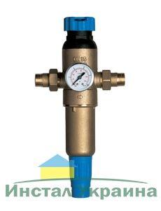 Ecosoft промывной фильтр для воды F-M-S 3/4 HW-R с регулятором давления