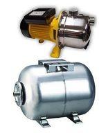 купить Насосная станция Optima JET 150S нерж, 1.3 кВт (бак 50 л нержавеющий бачок)