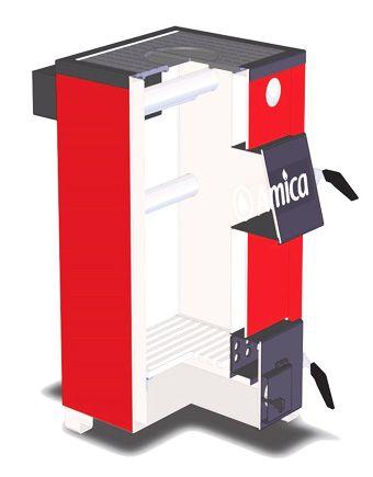 Твердотопливный котел Amica Optima 14P