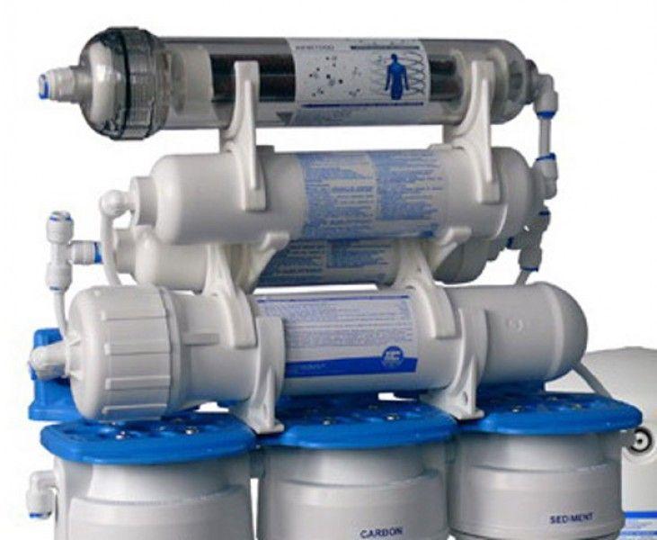 Система обратного осмоса Aquafilter FRO8JGM Голубая Лагуна 7